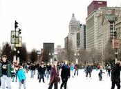 Chicago Skating Millennium Park