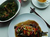 Cantonese Style Bream with Chilli Ginger Broccoli Florets