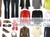 Allie: Denim-based Office Capsule Wardrobe
