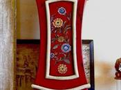 Hand Painted Miniature Mora Clock
