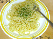 Easiest Pasta Side Dish