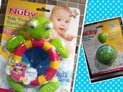Bath Time with Nuby Turtle: Review