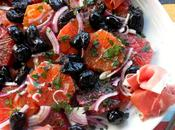 Kissed Winter Traditional Sicilian Blood Orange Salad from Catania