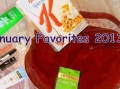January Favorites 2013