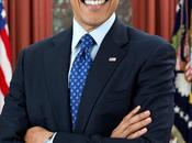 President Obama Smiles Official Second Term Portrait