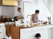 Brassy Brooklyn Kitchen