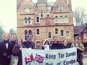 Canadian High Commissioner's Visit Oxford Tarred Local Protest