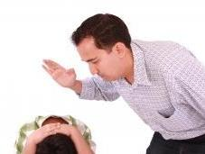 Father Smacks Child Across Head