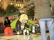 Banksy's Artwork Occupy London Movement