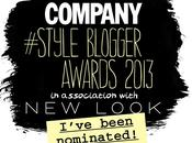 Company Style Blogger Awards 2013