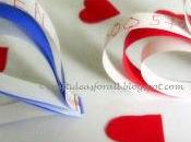 Valentine's Paper Strips Heart Craft Tutorial