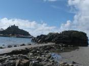 Climbing Michael's Mount with Cornish Giant Cormoran