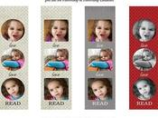 Free Customizable Photo Bookmarks Print)!
