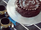 Black'n White Chocolate Fudge Cake