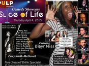 Slice Life Comedy Presents Comedian Blayr Nias PULP Tomorrow Night, Raffle Benefits Asheville Musician Honey