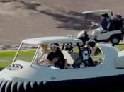 Bubba Watson's Hovercraft Golf Cart