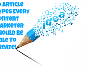 Article Types Every Content Marketer Should Able Create