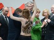 FEMEN Gives President Putin Eyeful
