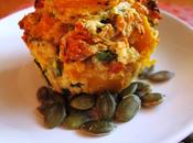 Pumpkin, Spinach Semi Sun-dried Tomato Muffins (hello High Protein, Fat)