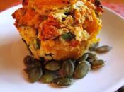 Pumpkin, Spinach Semi Sun-dried Tomato Muffins (hello High Protein, Fat)
