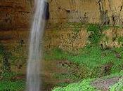 Baatara Gorge Waterfall That Drops Into Cave