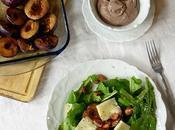 Roasted Plums Salad+ Салат Печеными Сливами+