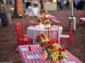 Summer Wedding Reception Theme: Picnic