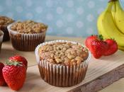 Gotta Love Coconut Oil: Strawberry Banana Muffins Streusel Topping