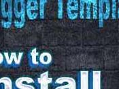 Install/Upload Template Blogger Blog Blogspot