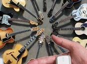 Tracking Musical Instruments. Mini Tracker Guitars.