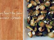 Cranberry Pecan Blue Cheese Brussels Sprouts