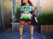 Rihanna Ford Mary Katrantzou Instagram Fashion Moment