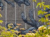 ROA's South Bank, London Mural