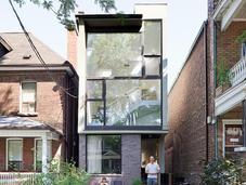 Small Narrow Modern Houses