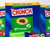 Your Favorite Girl Scout Cookies Nestle Crunch Candy Bars, Too!