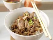 Gyudon Japanese Beef Rice Bowl