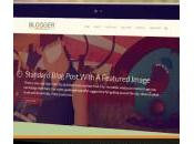 Blogger Responsive Blog Folio WordPress Theme