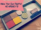 Make Your Eyeshadow Palette WITHOUT Magnets!