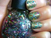 Funky Glitter Manicure