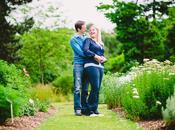 Steph Rich Engagement Shoot Botanical Gardens Cambridge