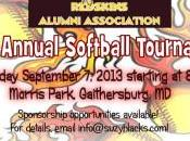 Redskins Alumni Softball Tournament Info