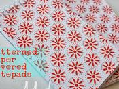 Patterned Paper Covered Notepads