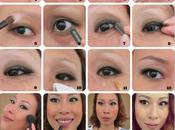 First Makeup Picture Tutorial Natural Bronzey Eyes