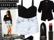 OOTD#6 Monochrome Obsession