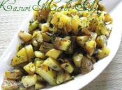 Kasuri Methi Aloo Simple, Quick Delish!