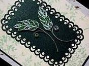 Paper Quilling Leaves Card