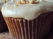 September Cupcake: Apple Cake with Caramel Frosting