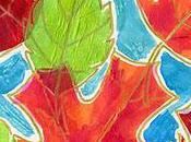 Tissue Paper Watercolor Fall Leaves
