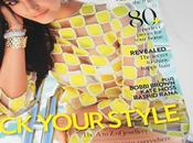 Stands VOGUE July 2013 Anushka Sharma Louis Vuitton 'Damier' Covers Page