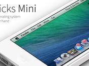 Mavericks Mini: Theme iPhone Available